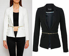 Miss Selfridge NEW Womens White Zip Waist Jacket RRP £55 Many Sizes