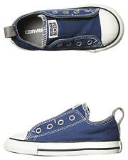 New Converse Tots Chuck Taylor All Star Slip Shoe Blue