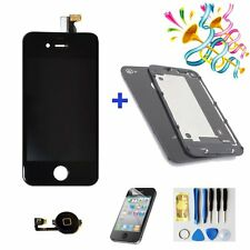Replacement LCD Touch Screen Digitizer For iPhone4  iphone4S GSM + back cover