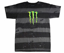 ONE INDUSTRIES MONSTER ENERGY COLLABRATION MEN BLACK TSHIRT ALL SIZES