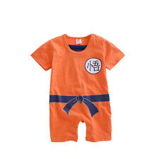 2015 New GoKu baby romper cotton newborn cartoon fashion jumpsuit infant romper