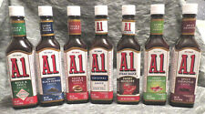 A.1. Steak Sauces 7 Flavors to Choose From Original, Chipolte, Sweet Hickory
