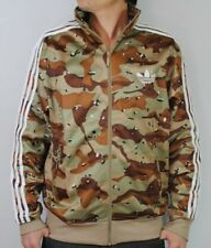 NEW FIREBIRD CAMO ARMY MILITARY BROWN TRACK TOP JACKET M L XL