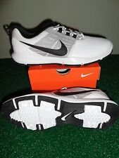 NEW 2015 NIKE EXPLORER SL GOLF SHOES, White/Black/Pure Platinum, PICK A SIZE