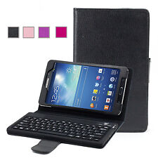Leather Bluetooth Keyboard Stand Case For Samsung GALAXY Tab 4 7.0 T230 T231 HOT