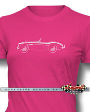 Austin Healey 3000 MKIII Roadster Women T-Shirt - Multiple Colors and Sizes