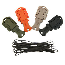 Mini Multifunction EDC Knife Pocket Survival Tool MOLLE Webbing Self Defense