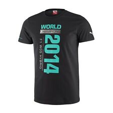 Mercedes AMG F1 Constructors Champion T-shirt 2014 Hamilton - New & Official