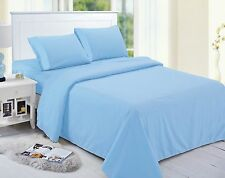 1800 Thread Count 4 Piece Deep Pocket Solid Bed Sheet Set by Home Simplicity