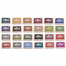 Ranger Adirondack Rubber Stamp Dye Ink Pad - Earthtones Colour Range