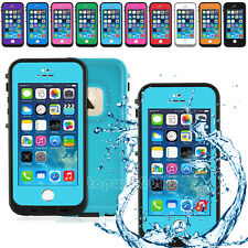 Waterproof Shockproof Durable Touch ID Fingerprint Scanner Case for iPhone 5 5S