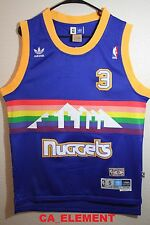 Adidas NBA Denver Nuggets Allen Iverson Hardwood Classic Swingman Men Jersey
