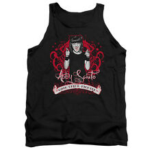 Ncis Goth Crime Fighter Adult Tank Top T-Shirt