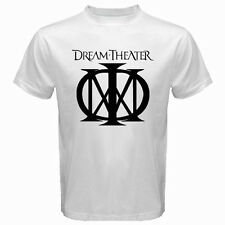 New DREAM THEATER Logo Rock Band Legend Men's White T-Shirt Size S to 3XL