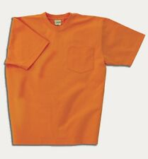 Mens Max-Weight Heavyweight Pocket Tee Shirt S to 6XL