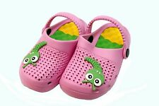 Toddlers Shoes  Slip on Cloggs Pink