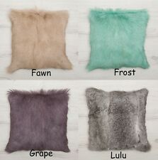 Decorative Throw or Scatter Cushions in Natural Fur,Bambury