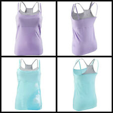 Yoga Gym Exercise Vest Tops. Sizes 8, 10, 12, 14, 16, 18, 20 Lilac & Sky. BNWT!