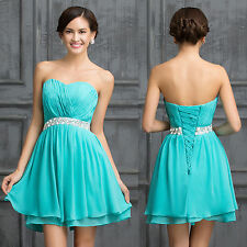 BEST FOR YOU Prom Graduation Short Party Bridesmaid Evening Gowns Formal Dresses