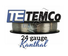 KANTHAL A1 Wire 24 Gauge For Building Coils + FREE Organic Cotton RDA RBA Vape