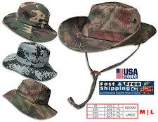 Bucket Hat Boonie Hunting Fishing Outdoor Cap Cotton Camouflage Hat NEW