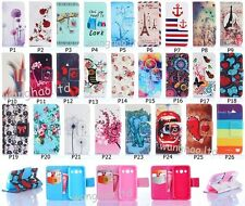 Hybrid Printed Book Design Flip PU Leather Stand Case Cover For Samsung Galaxy