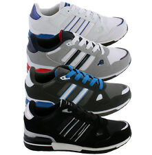 Mens Trainers Lace Up Running Trainers Casual Sports Gym Walking Shoes