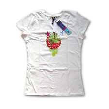 UglyFunk® Limited Edition Strawberry with Diamante Graphic Fairtrade Ladies Tee
