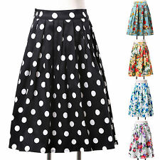 FREE SHIP 50er RETRO rockabilly Vintage SWING ROCK Tellerrock Petticoat-Rock