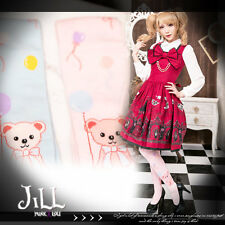 Lolita cartoon fantasy princess diary Thomas bear apartment knee high socks