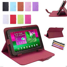 """Universal PU Pelle Stand Custodia Cover Per 7 """" 9"""" 10 """" 10.1"""" Android Tablet Scheda"""