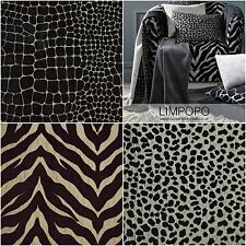 Porter & Stone Limpopo Animal Chenille Curtain & Upholstery Fabric   5 Designs