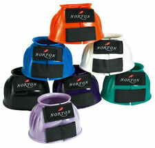 Norton Crazy Colour Over Reach Boot - Velcro Ribbed PVC Bell Boots