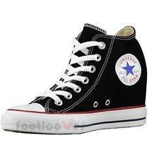 Shoes Converse All Star CT As Mid Lux Inside Heel 547198c Women's Black Canvas