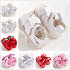 Hot sell Newborn Elegant White Sandals Infant Girls Toddler baby shoes 0-18month