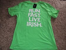 Men's Nike Dri-Fit 2015 Shamrock Shuffle Shirt LIVE IRISH NWT L XL XXL Running
