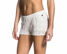NWT ROXY New Way Shorts Women M L XL Delicate Knitted Short Elastic Waist Lined