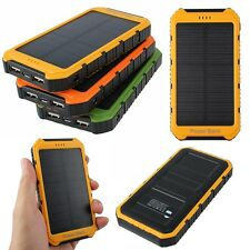 20000mAh Solare Caricabatterie Cellulari Charger Power Bank Dual Per Smart Phone