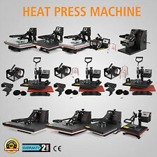 NEW DIGITAL SWING AWAY HEAT PRESS TRANSFER T-SHIRT SUBLIMATION MACHINE