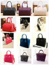 Women's Ladies Designer Leather Style Celebrity Tote Bag Shoulder Handbag