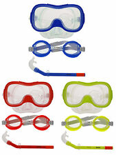 Kids Children Snorkel Mask Goggles Sets Diving Dive Scuba Snorkeling Gear Kit