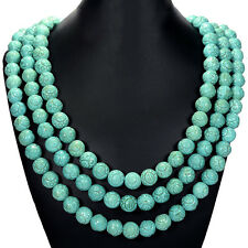 Vintage Turquoise Statement Necklace, Bracelet or Earrings Handcrafted Jewellery