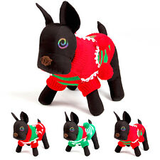 Pet Dog Cat Christmas Sweater Stripe Lovely Clothes Puppy Dog Cat Sweater Coats