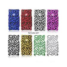 Luxury Electroplating Hollow Pattern PC Hard Case Back Cover for iPhone 4 4G 4S