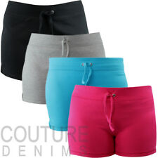 Ladies Leisure Casual Beach Shorts Stretch Lounge Gym Summer Hot Pants Holiday