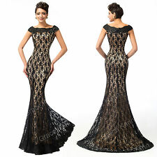 2015 Mermaid Vintage 50s Evening/Formal/Ball Gown/Party/Prom Dresses Plus Size