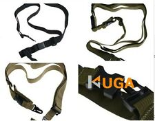 Gun Strap System Adjustable Hunting 3 Point Rifle Sling Bungee Tactical Shotgun