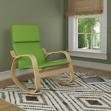 Rocking Chair Seat Fabric Living Room Comfort Relax Holiday Reading Watching TV