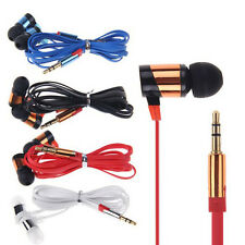 Stereo 3.5mm In Ear Headphone Earphone Headset Earbud for iPhone HTC Samsung PC