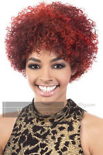100% Human Remy Hair Short Afro Curl Style Solange Knowles Inspired HR Kemi Wig